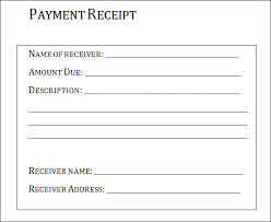 Acknowledgment Of Payment Receipt: After A Payment Has Been Made, It Is  Usually Followed By A Letter Acknowledging The Payment. If You Have Been  Assigned ...  Blank Reciept