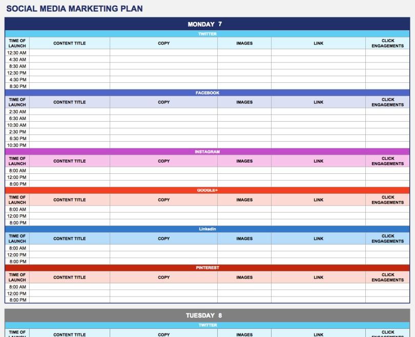 social-media-marketing-plan-template