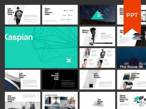 Kaspian Powerpoint template