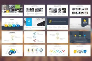 Mahkota Powerpoint template