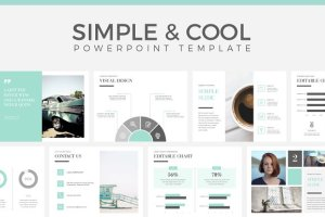 Simple And Cool Powerpoint Template