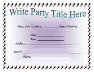 Free invitation templates 10 free new year templates all form invite any party celebration or social events write the letter for any reason whether it is related to business or related to adaptation stopboris Gallery