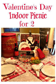 Arrange An Indoor Picnic