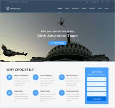 Adventure WordPress  Website Theme