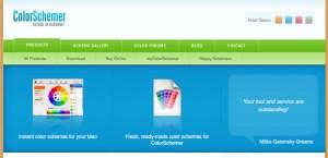 Color Palette of SEO Website Templates