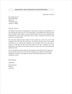 HR Appraisal letters templates