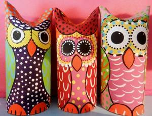 Painted Hoot Owls