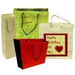 Reuse Old Gift Bags