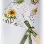 Garden Party Paper Fan