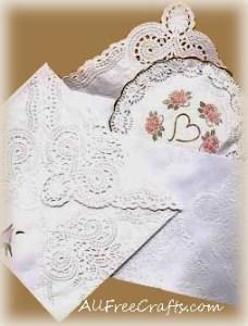 paper doily sachet