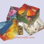 Folded Gift Boxes from Cards