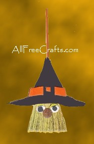 mini broom witch