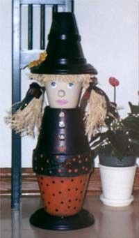 clay pot witch