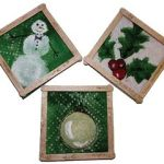 paper towel coasters