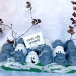egg carton ghosts