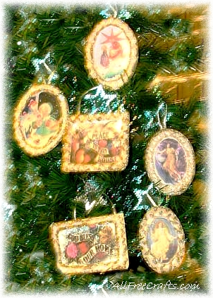 Victorian Icing Cards Ornaments All Free Crafts
