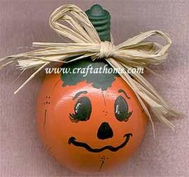 lightbulb pumpkin