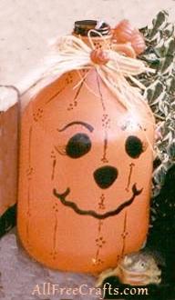 pumpkin jug