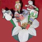 Recycled Christmas Card Puppets
