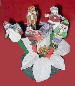 greeting card puppets