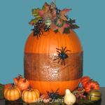 ribbon pumpkin