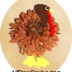 silk mum turkey pin