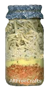 chicken noodle soup jar mix