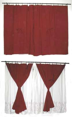 quick curtain pattern