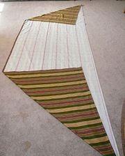 fabric trapezoid