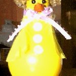 light bulb duck