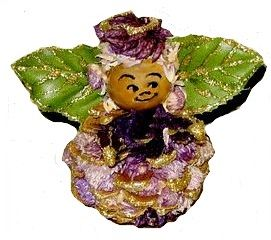 potpourri pinecone angel