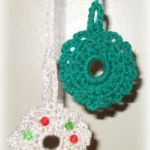 Mini Crochet Wreaths