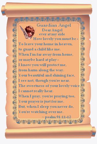 angel psalm scroll