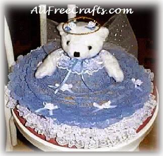 angel bear on a hat