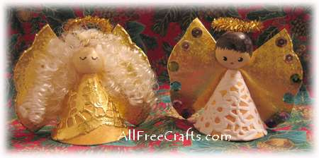paper doily angels