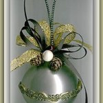 Embellished Glass Ornaments