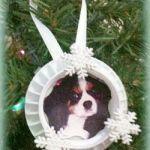 bottle cap photo ornament