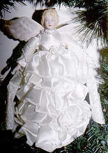 victorian ribbon angel