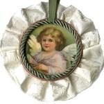 angel juice lid ornament