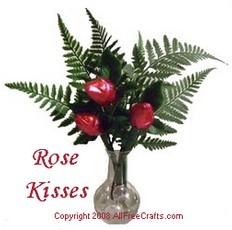 chocolate rose kisses