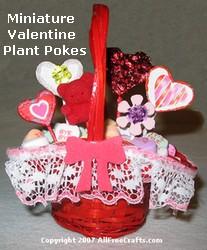Valentine plant pokes