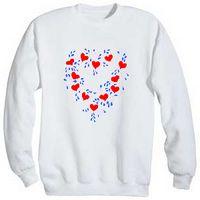 heart motif shirt