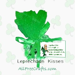 leprechaun kisses in tulle