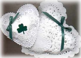 scented sachets for St. Patrick's Day