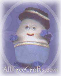 humpty dumpty from a plastic egg