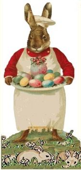 old-fashioned bunny