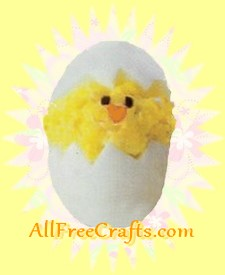 deviled egg Easter chick