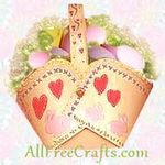 homemade paper baskets