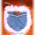 Denim Pocket Purses