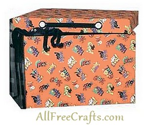 holiday decorations recycled storage box